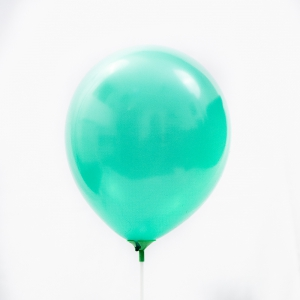 Set 100 buc balon latex uni sidef  verde