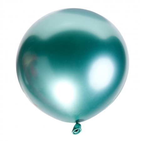Set 50 buc balon  turquoise latex opac