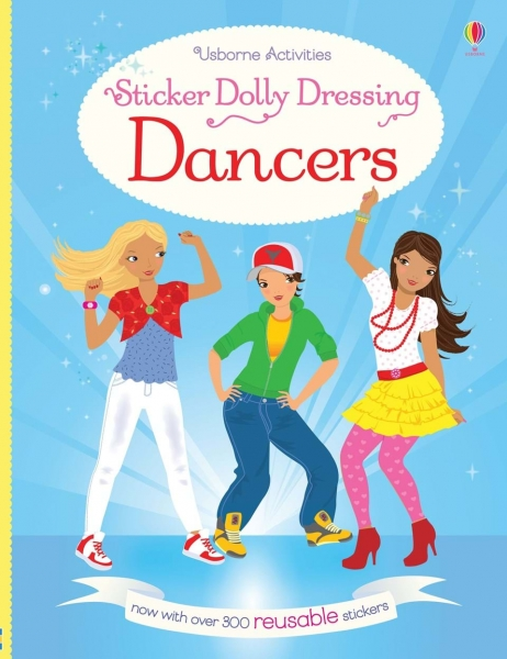 Sticker dolly dressing - Dancers