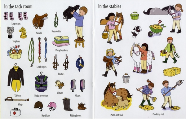 First Sticker Book Ponies
