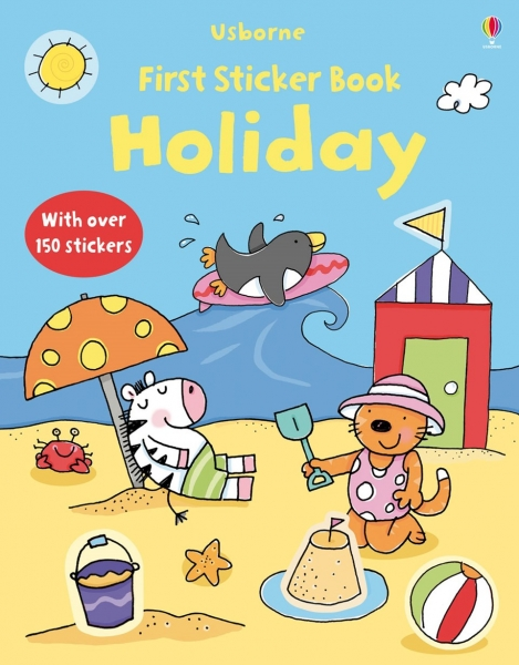 First Sticker Book Holiday