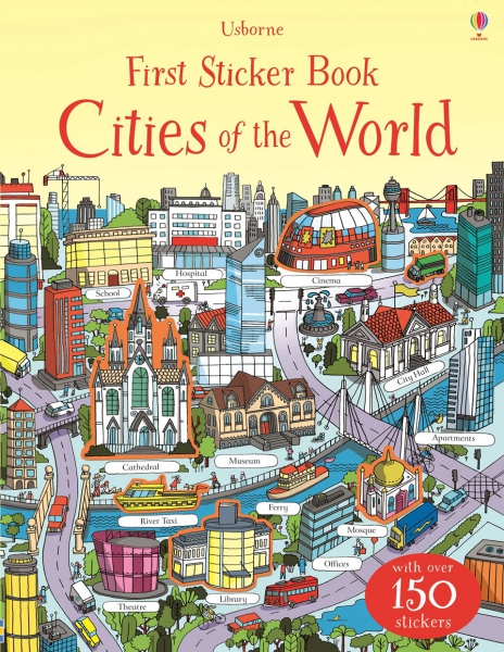 First Sticker Book - Cities of the world