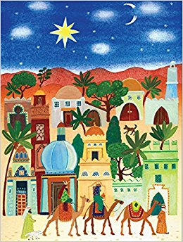 Little Town of Bethlehem Boxed Holiday Full Notecards