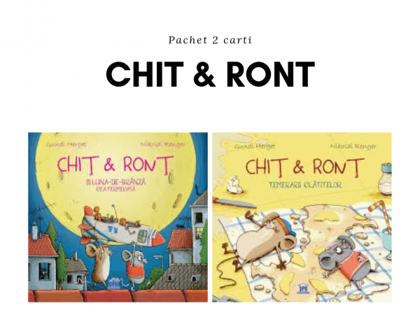 Pachet 2 carti Chit & Ront
