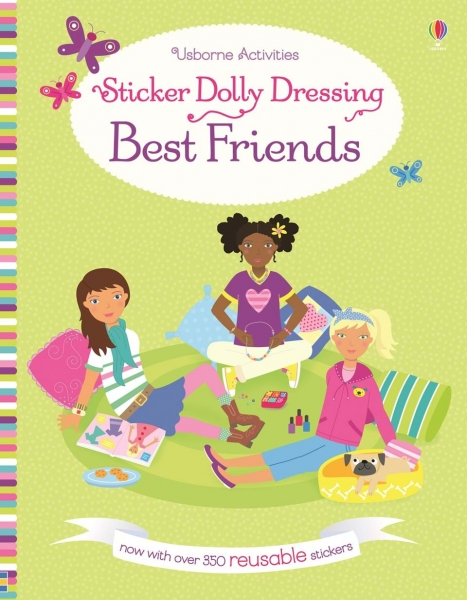 Sticker Dolly Dressing - Best Friends