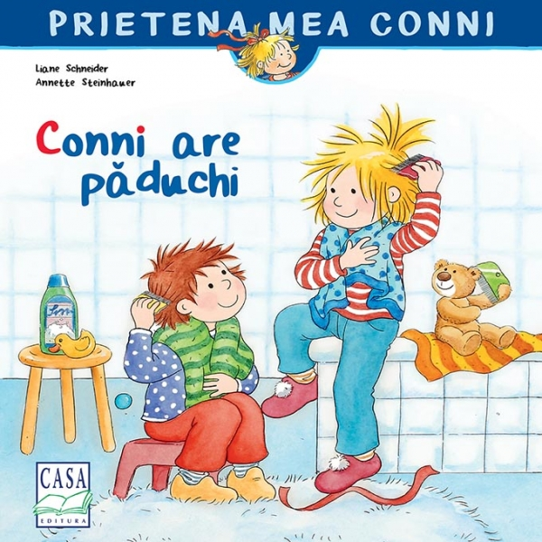 Conni are păduchi