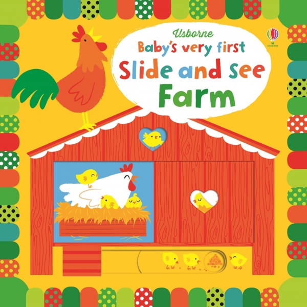 Baby's very first slide and see books - Farm