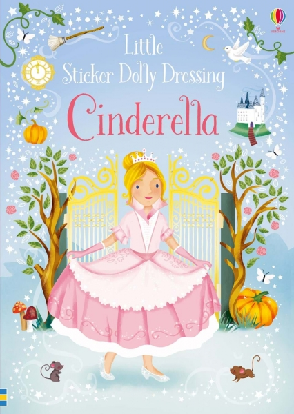 Little sticker dolly dressing - Cinderella