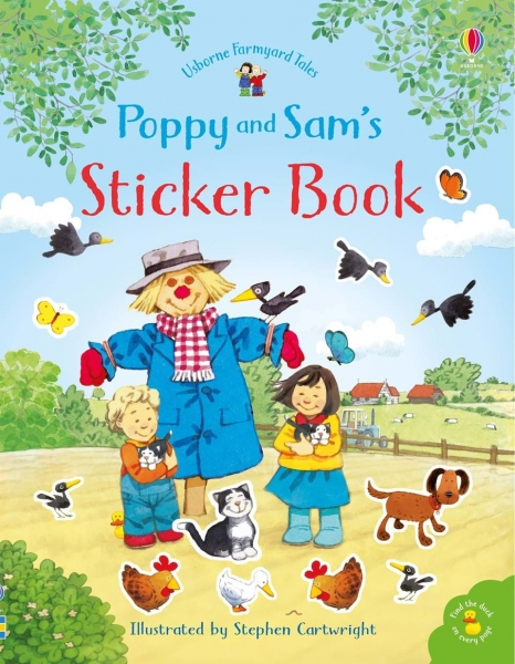 Poppy and Sam's sticker book