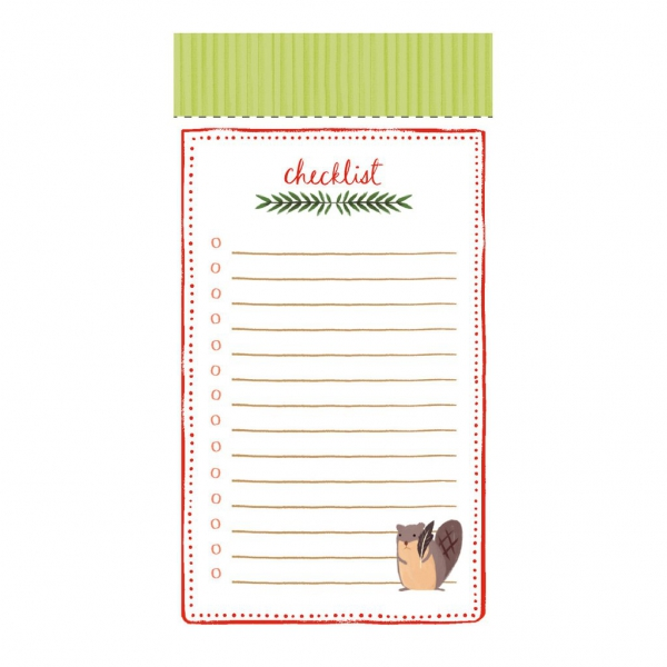 LIST PADS: HOLIDAY FOREST FRIENDS