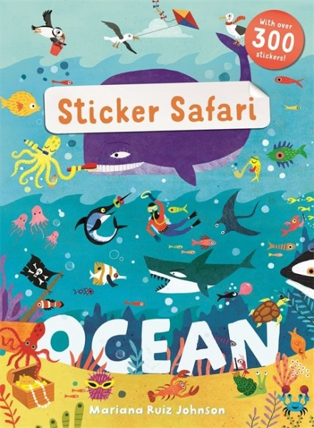 Sticker Safari Ocean