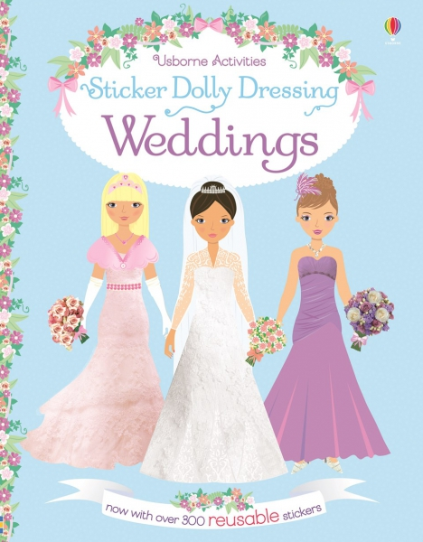 Sticker dolly dressing - Weddings