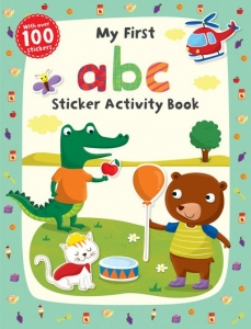 First Skills My First abc Sticker Activity Book