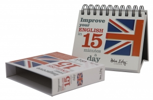 """Calendarul """"Improve your english in 15 minutes a day"""""""