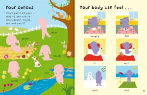 First Sticker Book Your body