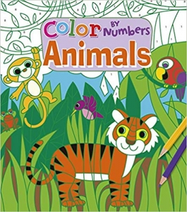 Colour by Numbers: Animals