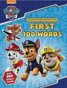 PAW Patrol: First 100 Words Sticker Book