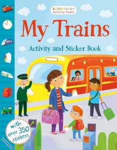 My Trains Activity and Sticker Book