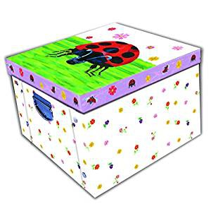 Grumpy Ladybird Collapsible Storage Box