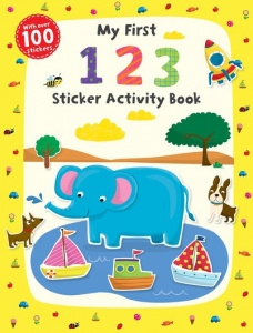 First Skills: My First 123 Sticker Book