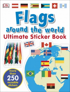 Flags aroind the World Ultimate Sticker Book