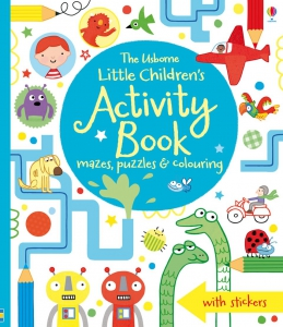 Little children's activity book - mazes, puzzles, colouring & other activities
