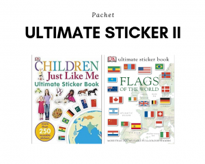 Pachet 2 cărți: Ultimate Stickers II