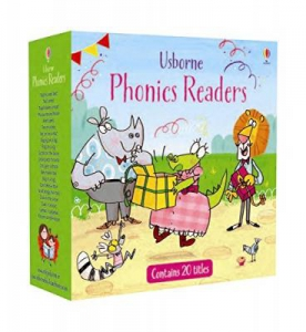 Usborne Phonics Readers (box set of 20 books)