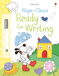 Wipe-clean ready for writing