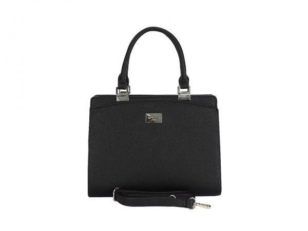 GEANTA NEAGRA DAMA OFFICE  JEFFERY