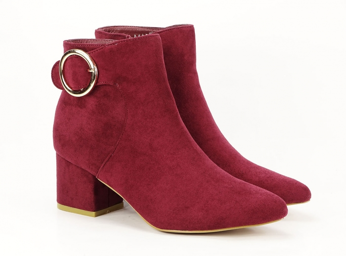 BOTINE BORDO CU TOC MIC JENNIFER
