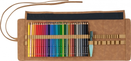 Rollup 30 Creioane Colorate A.Durer & Accesorii Faber-Castell