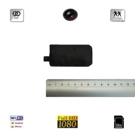 Modul compact microcamera video spion