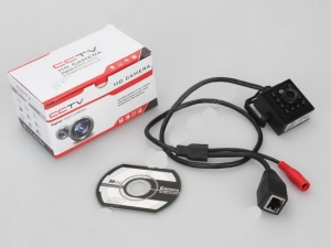 Mini modul camera spion profesionala Ip cu functie de night vision, 720P , 2 Mp - XSIPCAMHDNW