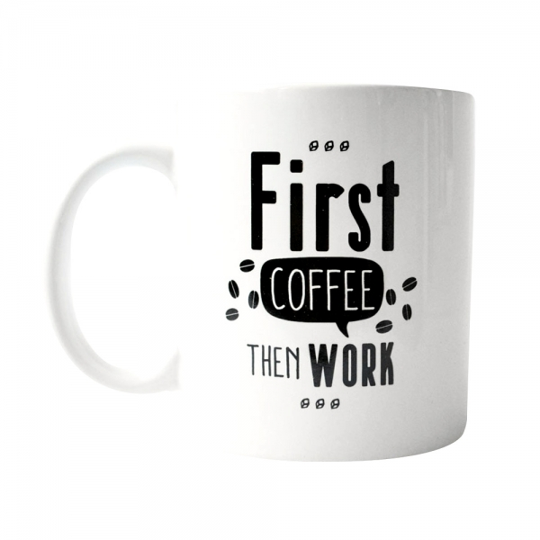 Cana First Coffee Then Work 250 ML