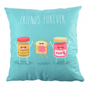 Perna Decorativa Friends Forever #1 45X45 CM