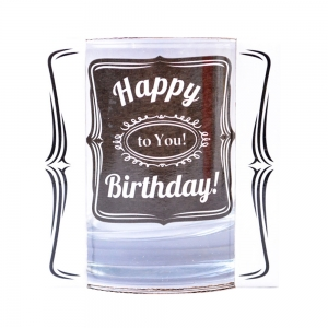 Pahar Whisky Happy Birthday To You! 200 ML