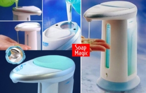 Dozator Automat De Sapun Cu Senzor – Soap Magic