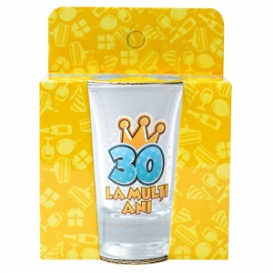 Pahar Shot La Multi Ani 30 35 ML