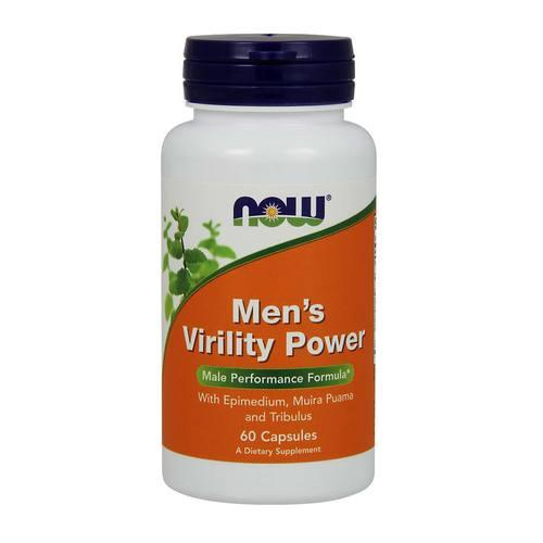 Now Men`s Virility Power 60 vcaps
