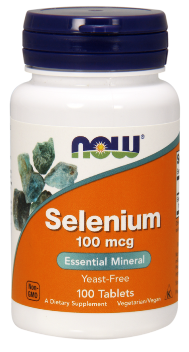 Now Selenium 100 mg 100 tablete