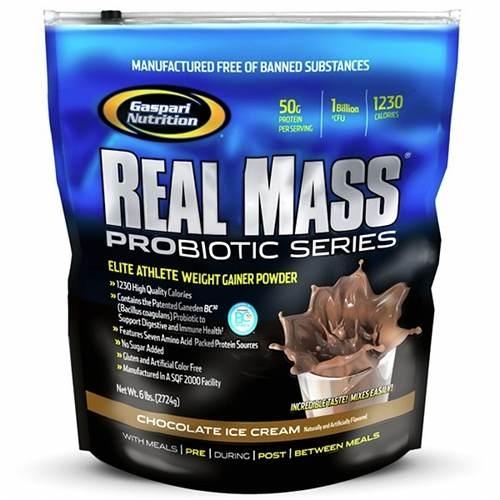 Gaspari Real Mass Probiotic Series 2.7 kg