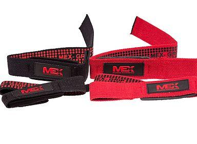 MEX Pro Lifting Straps Red