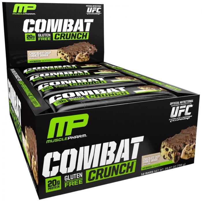 Musclepharm Combat Crunch 12 Bars