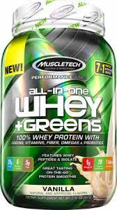 Muscletech All In One Whey + Greens 907 g