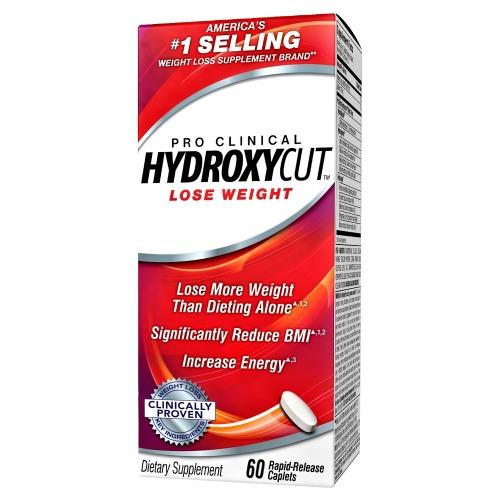 Muscletech Pro CLinical Hydroxycut 60 caps