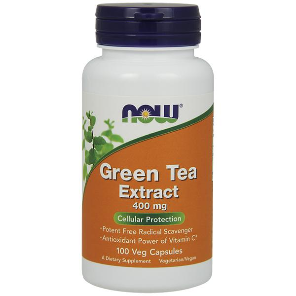 Now Green Tea 100 vcaps