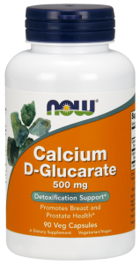 Now Calcium D-Glucarate 500 mg 90 vcaps