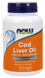 Now Code Liver Oil 90 softgel