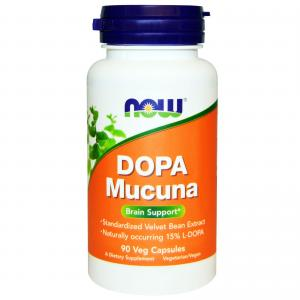Now Dopa Mucuna 90 caps